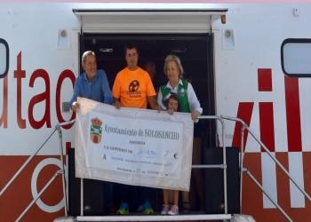 Récord de participación en la III Celtibike de Solosancho para luchar contra el cáncer (2º Fotografía)