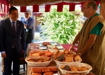 Productos de quince empresas adheridas a 'Ávila Auténtica' se dan cita en las Jornadas Medievales de la capital