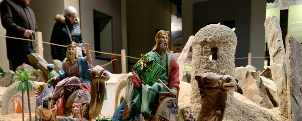 Más de 20.000 personas visitan el Belén de la Diputación durante las fiestas navideñas