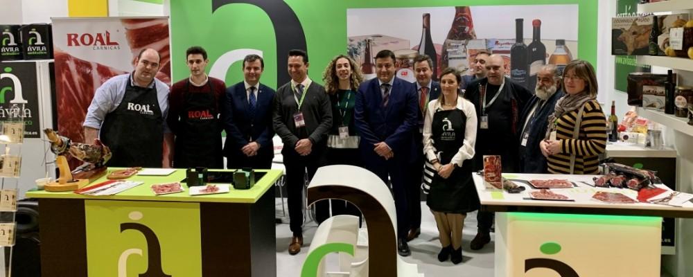 Diecinueve empresas y diez bodegas ya muestran su calidad en Madrid Fusión bajo la marca Ávila Auténtica