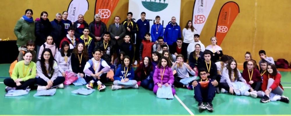 Sotillo acoge la entrega de medallas de Esgrima y un 3x3 de Baloncesto en los Juegos Escolares de la Diputación