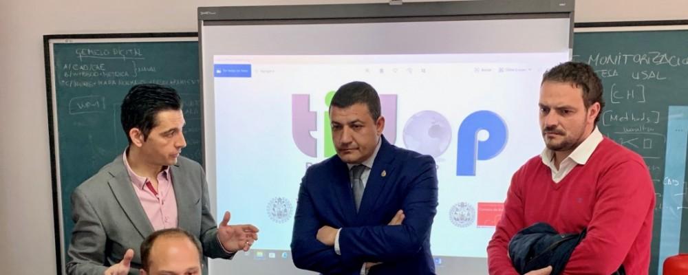 Diputación y USAL ultiman un convenio para prevenir fuegos e inundaciones en los 247 municipios abulenses