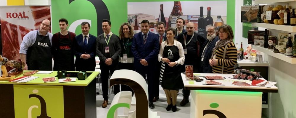 La Diputación muestra su apoyo a los empresarios de Ávila Auténtica y destaca el incremento de la venta online