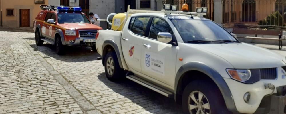 Siete centros de Salud y otras siete residencias de mayores, desinfectados por la Diputación este fin de semana