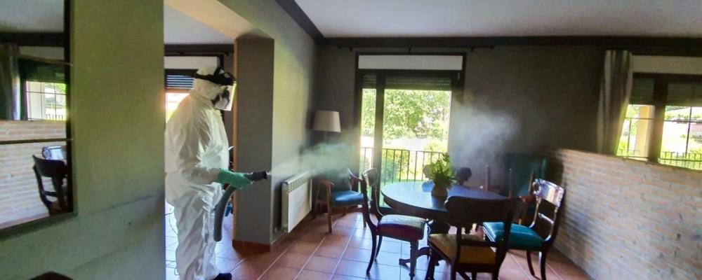 23 higienizaciones entre viernes y sábado para seguir eliminando la carga viral de espacios públicos