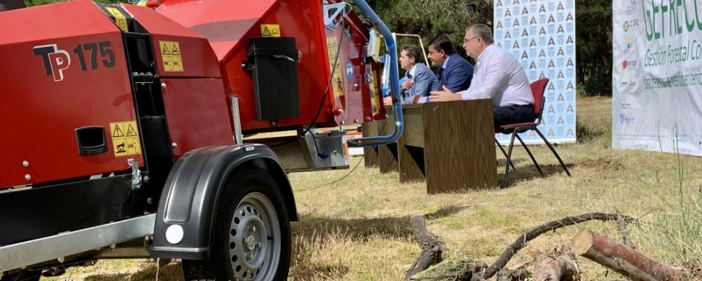 La Diputación arranca un plan de gestión conjunta de maquinaria forestal para prevenir incendios