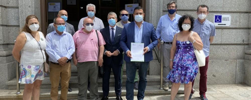 La Mesa del Ferrocarril de Ávila y Renfe Viajeros se reúnen el día 7 en la Diputación