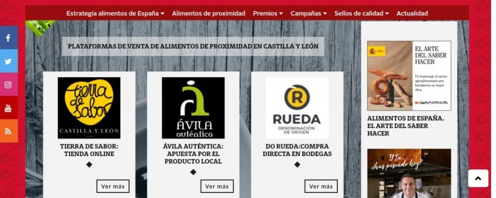 Ávila Auténtica, en la plataforma de venta online de 'Alimentos de España'
