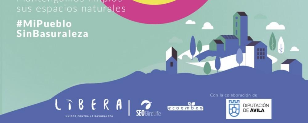 La Diputación se suma a la campaña del Proyecto LIBERA #MiPuebloSinBasuraleza
