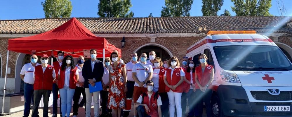Cruz Roja renueva equipamiento y vehículos gracias al convenio con la Diputación