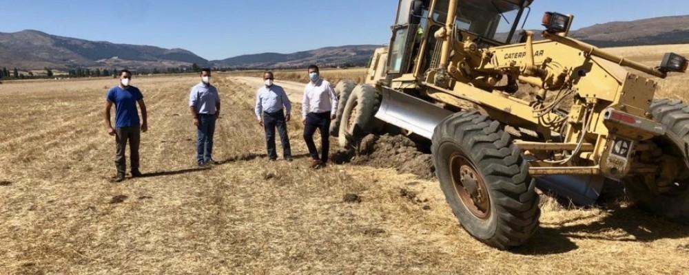 La campaña de la Diputación contra la proliferación de topillos llega al Valle Amblés