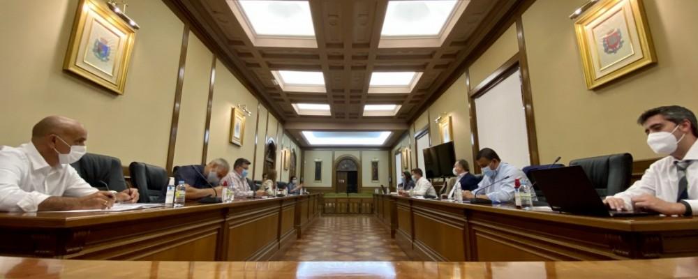 La Diputación acoge los primeros pasos del Grupo de Trabajo Técnico de la Plataforma Logística Agroalimentaria