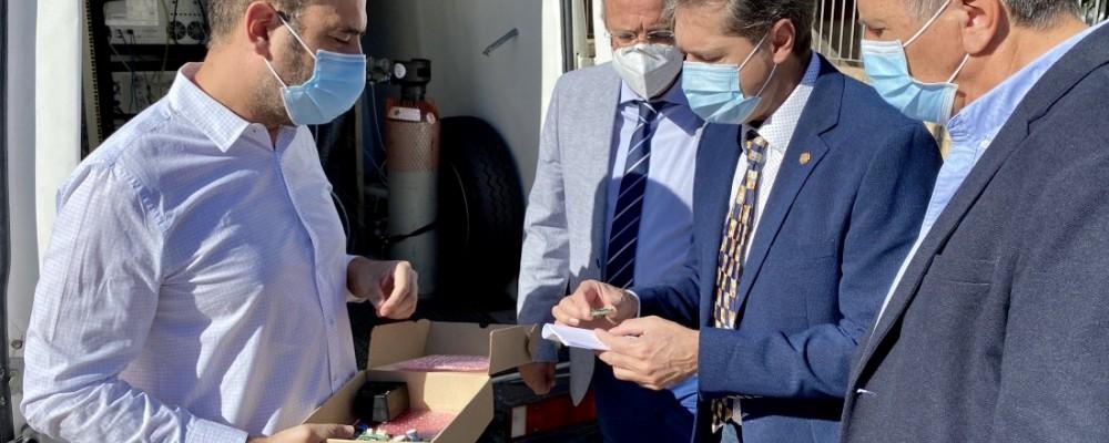 La Diputación testea la eficacia de los nanosensores del proyecto NanoSen para medir la calidad del aire