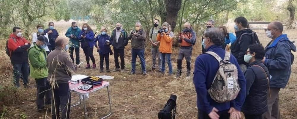 27 alumnos aprenden sobre las aves de Ávila en el curso de ornitología organizado por la Diputación