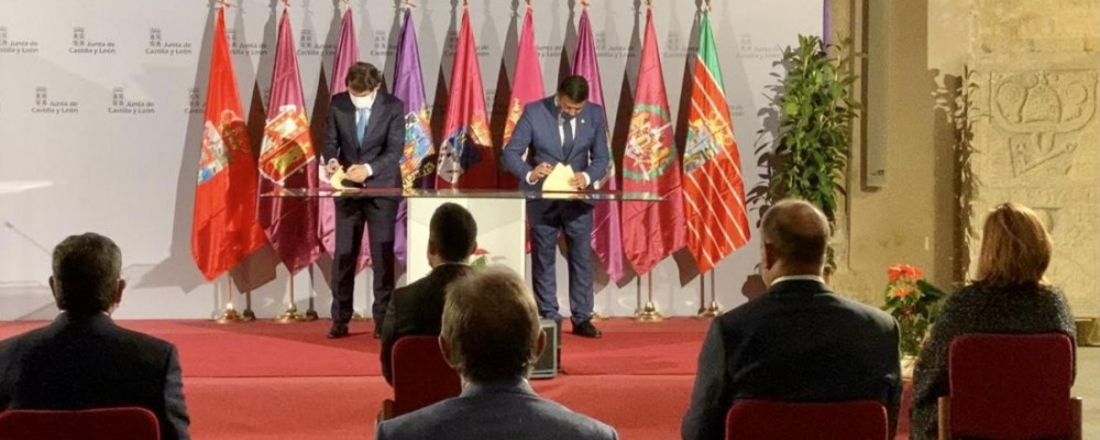 Diputación y Junta firman el convenio para dotar de depuración de aguas a los municipios de 500 a 2.000 habitantes