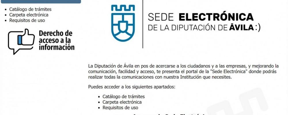 La firma electrónica de terceros agiliza y hace más eficientes los procesos burocráticos de la Diputación