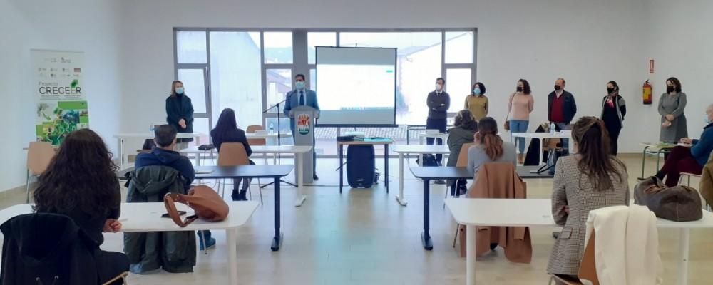 Quince empresas se dan cita en Sotillo en el taller de marketing digital dentro del proyecto CRECEER