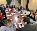 """Foto de Carlos García anuncia """"las medidas que se crean oportunas"""" si el Gobierno no escucha a la Mesa del Ferrocarril"""