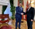 """Foto de El presidente se reúne con el embajador turco en España para """"fortalecer relaciones turísticas y comerciales"""""""