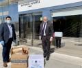 Foto de El presidente agradece a las empresas abulenses la donación de material sanitario de protección frente al COVID-19