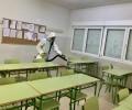 Foto de La Diputación comienza a higienizar todos los colegios e institutos de la provincia y la capital