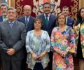 Foto de El presidente felicita a los trabajadores de la Diputación por la festividad de Santa Rita
