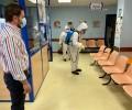 Foto de La Diputación inicia una ronda de desinfecciones en los centros de Salud de la capital tras concluir con los de la provincia