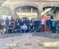 Foto de 16 clubs de fútbol y ciclismo de la provincia, beneficiarios de las ayudas de la Diputación