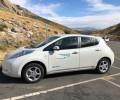 Foto de El vehículo eléctrico de la Diputación llevó la movilidad sostenible a Gredos en agosto