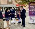 Foto de Un microbús lleva desde hoy la campaña 'Diputación por la Igualdad' a 34 municipios de la provincia