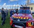 Foto de La Diputación entrega un vehículo de salvamento a ARPA y 19 desfibriladores a agrupaciones de Protección Civil