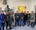 Una exposición colectiva abre las muestras pictóricas de 2020 en el Torreón de los Guzmanes