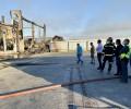 """El presidente agradece el trabajo """"de profesionales y voluntarios"""" en la extinción del incendio de San Pedro del Arroyo"""