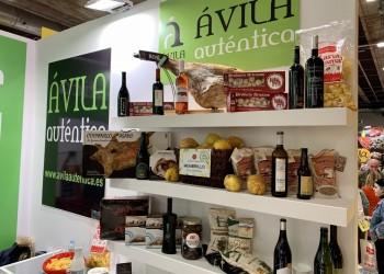 Diecinueve empresas y diez bodegas ya muestran su calidad en Madrid Fusión bajo la marca Ávila Auténtica (2º Fotografía)
