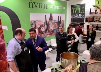 Diecinueve empresas y diez bodegas ya muestran su calidad en Madrid Fusión bajo la marca Ávila Auténtica (4º Fotografía)