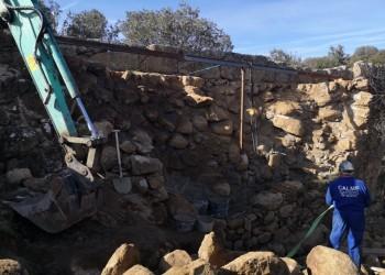 La Diputación pone en marcha las obras de restauración del puente de la Fonseca (4º Fotografía)