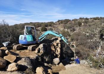 La Diputación pone en marcha las obras de restauración del puente de la Fonseca (3º Fotografía)