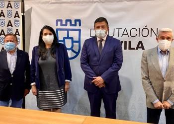 """La Diputación renueva su convenio con el Banco de Alimentos para que """"repercuta en un mayor bienestar de tantas familias abulenses necesitadas"""" (2º Fotografía)"""