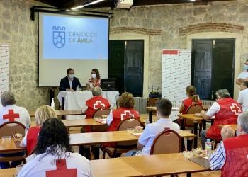 Cruz Roja renueva equipamiento y vehículos gracias al convenio con la Diputación (2º Fotografía)