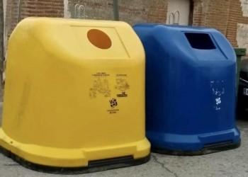 El Consorcio Provincial hace un llamamiento a la población para el buen uso del iglú azul de reciclaje