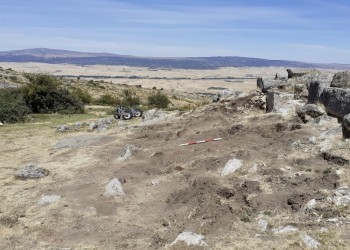 La Diputación multiplica por siete la inversión en la excavación arqueológica del castro de Ulaca (3º Fotografía)