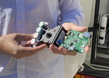 La Diputación testea la eficacia de los nanosensores del proyecto NanoSen para medir la calidad del aire (2º Fotografía)