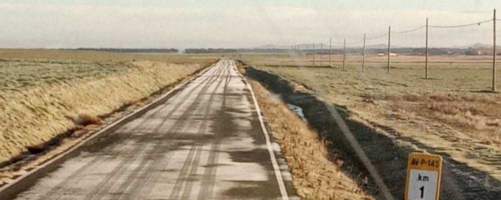 32 toneladas más de fundentes para evitar las placas de hielo en las carreteras de la red provincial