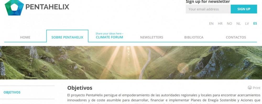 El COPITI colabora con la Diputación en el proyecto europeo Pentahelix