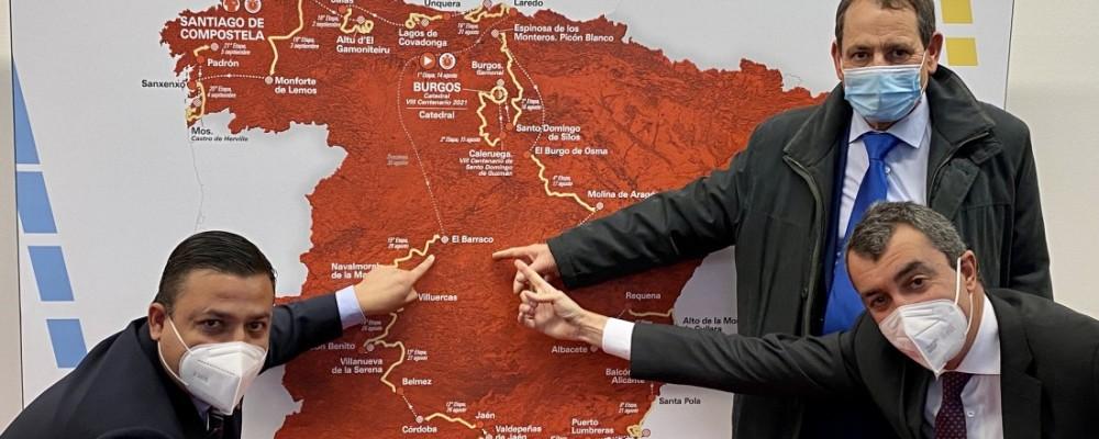 El Barraco y toda la provincia, preparados para recibir el domingo a la Vuelta Ciclista a España