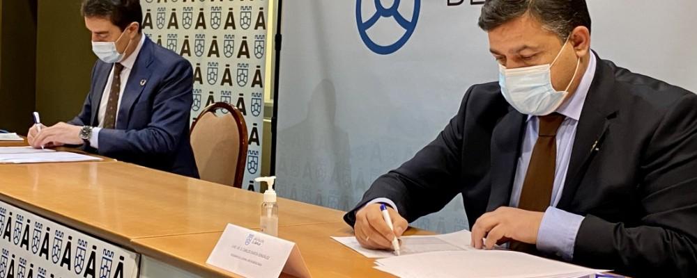 1,9 millones para inversiones en municipios de menos de mil habitantes gracias al convenio entre Diputación y Junta