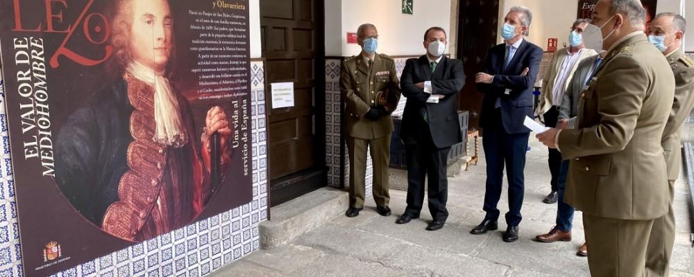 La vida y hazañas del almirante Blas de Lezo, en el Torreón de los Guzmanes hasta el 4 de junio