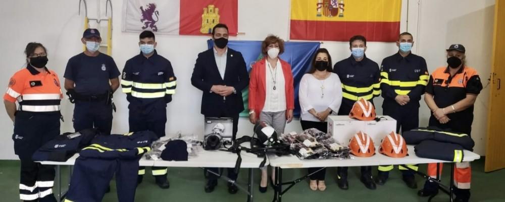 Visita a la Agrupación de Protección Civil y Bomberos Voluntarios de El Tiemblo