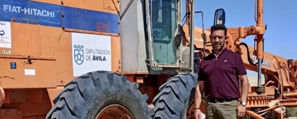 Concluye el arreglo de caminos agrícolas de La Moraña afectados por la granizada de junio