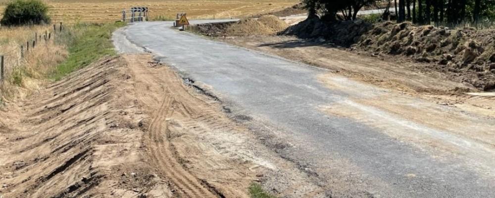 Comienzan las obras de acondicionamiento de la AV-P-503 entre Solosancho y Baterna